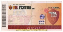 2000-01 uefa r4 1st ROMA 0 [LIVERPOOL] 2 (unused)