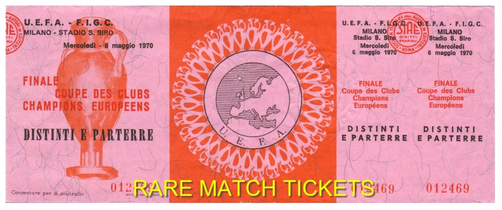 1970 ec final FEYENOORD 2 CELTIC 1 (unused)