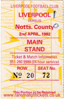 1981-82 div1 m31 LIVERPOOL 1 NOTTS COUNTY 0 [ms]