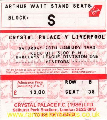 1989-90 div1 m24 CRYSTAL PALACE 0 [LIVERPOOL] 2
