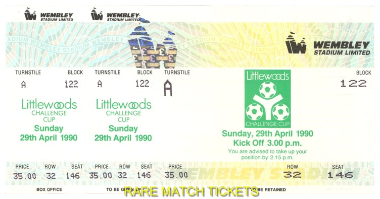 1990 lc final NOTTINGHAM FOREST 1 OLDHAM ATHLETIC 0 (unused)