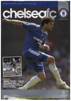 2007-08 sf 2nd CHELSEA 3 LIVERPOOL 2