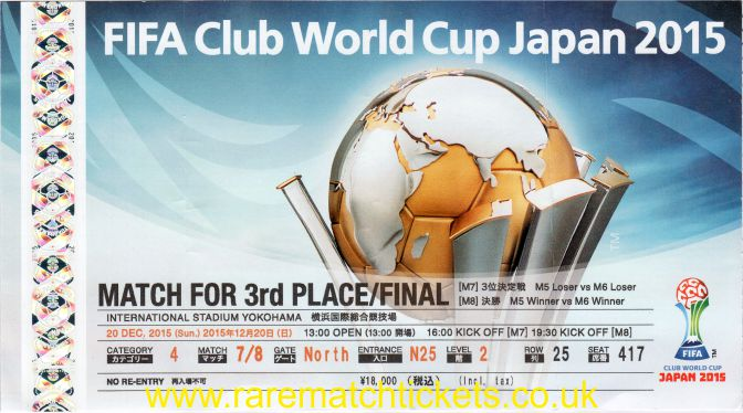 2015 fcwc final BARCELONA 3 RIVER PLATE 0