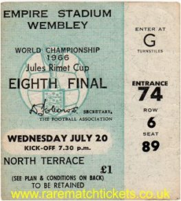 1966 wc grA m3 ENGLAND 2 FRANCE 0