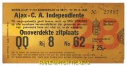 1972 ic final 2nd AJAX 3 INDEPENDIENTE 0