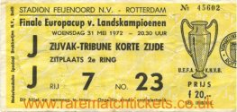 1972 ec final AJAX 2 INTERNAZIONALE 0