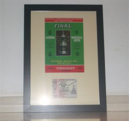 1974 FAC final LIVERPOOL 3 NEWCASTLE UTD 0