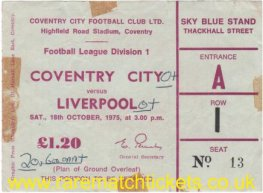 1975-76 div1 m12 COVENTRY CITY 0 LIVERPOOL 0
