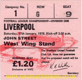 1975-76 div1 m26 SHEFFIELD UTD 0 LIVERPOOL 0