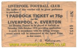 1976-77 div1 m09 LIVERPOOL 3 EVERTON 1 (voucher)