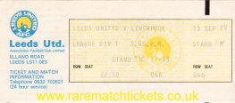 1979-80 div1 m05 LEEDS UTD 1 LIVERPOOL 1 (unused)