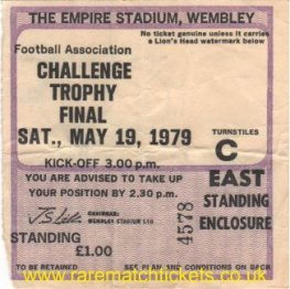 1979 fa trophy final STAFFORD RANGERS 2 KETTERING TOWN 0 [east]