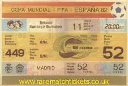 1982 wc final ITALY 3 W GERMANY 1 (unused)