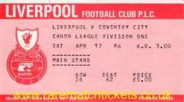 1985-86 div1 m37 LIVERPOOL 5 COVENTRY CITY 0 [ms]