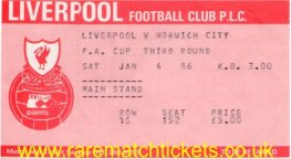 1985-86 fac r3 LIVERPOOL 5 NORWICH CITY 0