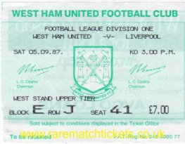 1987-88 div1 m03 WEST HAM UTD 1 LIVERPOOL 1 [41]