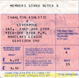 1987-88 div1 m24 CHARLTON ATHLETIC 0 LIVERPOOL 2