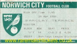 1987-88 div1 m35 NORWICH CITY 0 [LIVERPOOL] 0