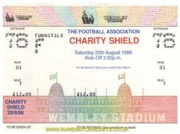 1988 cs LIVERPOOL 2 WIMBLEDON 1 (unused)