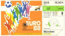 1988 ec final NETHERLANDS 2 USSR 0 (unused)
