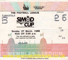 1988 fmc [simod cup] final READING 4 LUTON TOWN 1
