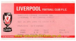 1989-90 div1 m33 LIVERPOOL 2 NOTTINGHAM FOREST 2 [ms]