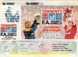 1992 cs LEEDS UTD 4 LIVERPOOL 3 (unused)