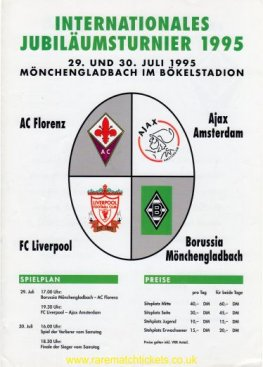 1995-07-29 INTERNATIONAL TOURNAMENT (BOKELBERGSTADION)