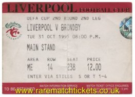 1995-96 uefa2 2nd LIVERPOOL 0 BRONDBY 1 [ms]