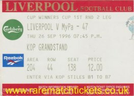 1996-97 cwc r1 2nd LIVERPOOL 3 MYPA-47 1 [kop]