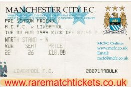 1999-00 FR MANCHESTER CITY 2 [LIVERPOOL] 1
