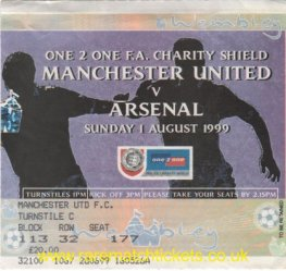 1999 cs ARSENAL 2 [MANCHESTER UTD] 1