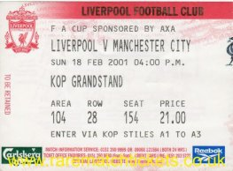 2000-01 fac5 LIVERPOOL 4 MANCHESTER CITY 2 [kop]