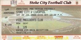 2000-01 fr STOKE CITY 1 LIVERPOOL 0 (unused)