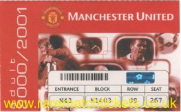 2000-01 epl season ticket