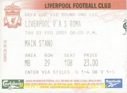 2000-01 uefa4 2nd LIVERPOOL 0 ROMA 0 [ms]