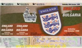 2000 ecq gr5 m2 ENGLAND 0 BULGARIA 0 (unused)