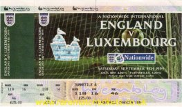 2000 ecq gr5 m7 ENGLAND 6 LUXEMBOURG 0 (unused)