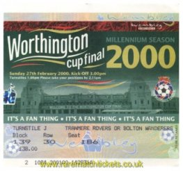 2000 lc final LEICESTER CITY 2 [TRANMERE ROVERS] 1