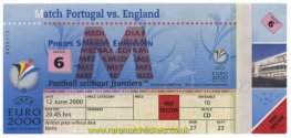 2000 ec grA m1 PORTUGAL 3 ENGLAND 2 (unused) [media]