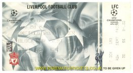 2001-02 CL 2nd GrB M1 LIVERPOOL 1 BARCELONA 3 (unused) [arl]