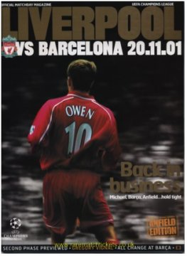 2001-02 2nd stage grB m1 LIVERPOOL 1 BARCELONA 3