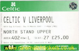 2002-03 uefa qf1 CELTIC 1 LIVERPOOL 1