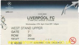2004-05 cl sf1 CHELSEA 0 LIVERPOOL 0