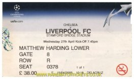 2004-05 cl sf 1st CHELSEA 0 LIVERPOOL 0