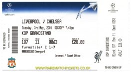2004-05 cl sf 2nd LIVERPOOL 1 CHELSEA 0 (unused) [kop]