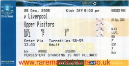 2005-06 epl EVERTON 1 LIVERPOOL 3 (unused)