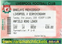 2005-06 EPL LIVERPOOL 1 [BIRMINGHAM CITY] 1