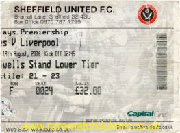 2006-07 EPL SHEFFIELD UTD 1 LIVERPOOL 1