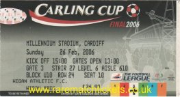 2006 lc final MANCHESTER UTD 4 [WIGAN ATHLETIC] 0